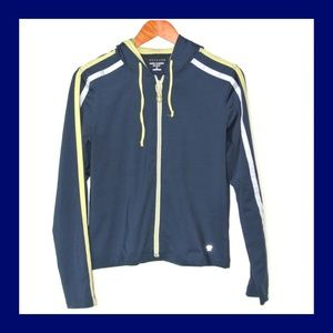 Oleg Cassini Sport Stretch Blue Yellow Jacket S